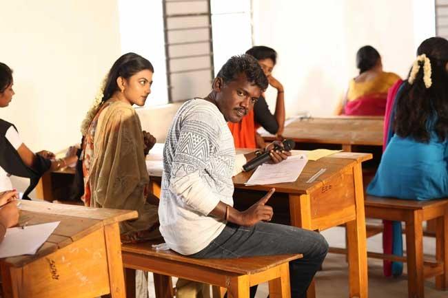 கயல் ஆனந்தி - இயக்குநர் மாரி செல்வராஜ்
