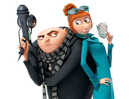 Despicable Me 2 Tamil Review