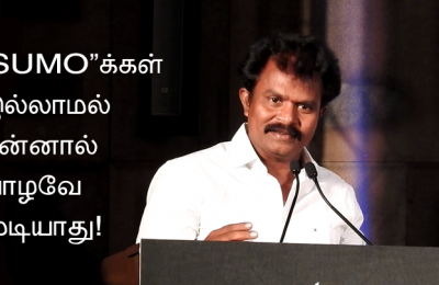 Director-Hari-at-Saamy-square-audio-launch