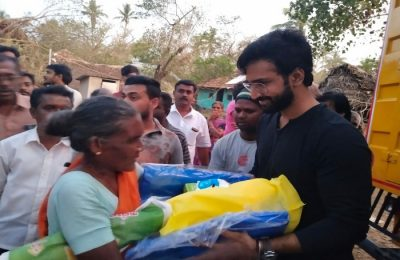 Aadhi at Gajaa relief