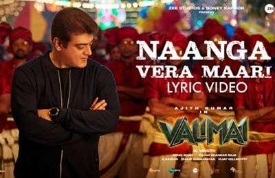 valimai first single
